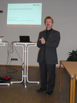 Professor Dr. Holger Schmidt, Fachforum: Altbaumanagement in Chemnitz, 2012