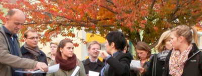 TU Kaiserslautern zu Besuch beim Verein Stadthalten Chemnitz, 2013